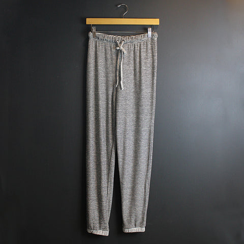 .Grey Striped Joggers