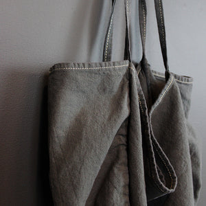 Charcoal Canvas Tote