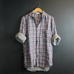 Grey Plaid Jack Tunic