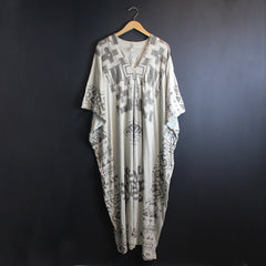 Cream Cotton Jersey Dress