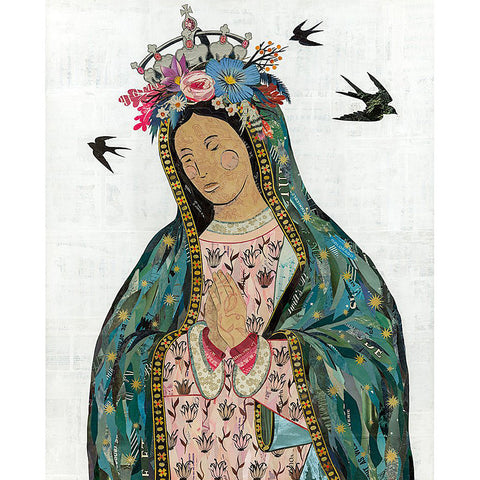 Multi Colored Print - Lady Guadalupe