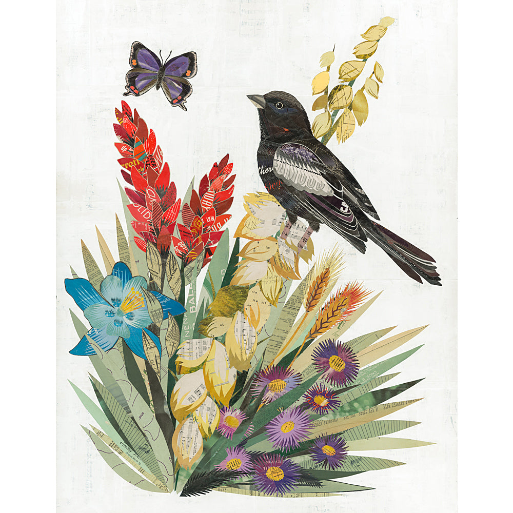 Multi Colored Print - Lark