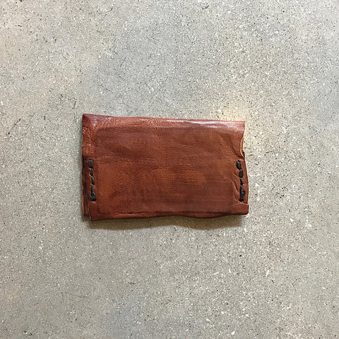 Brown Handmade Leather Card Case