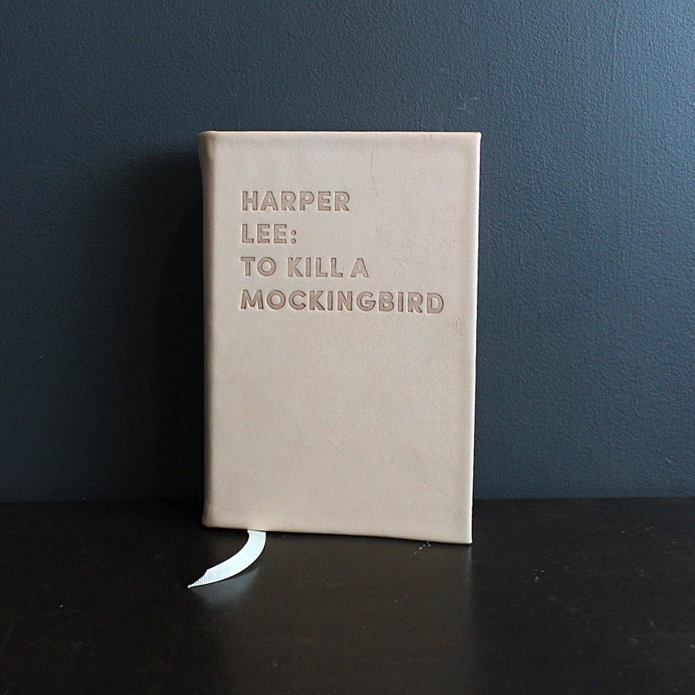 Neutral Leather Bound To Kill a Mockingbird Book