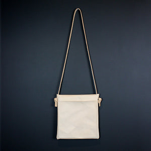 Neutral Leather Cross Body