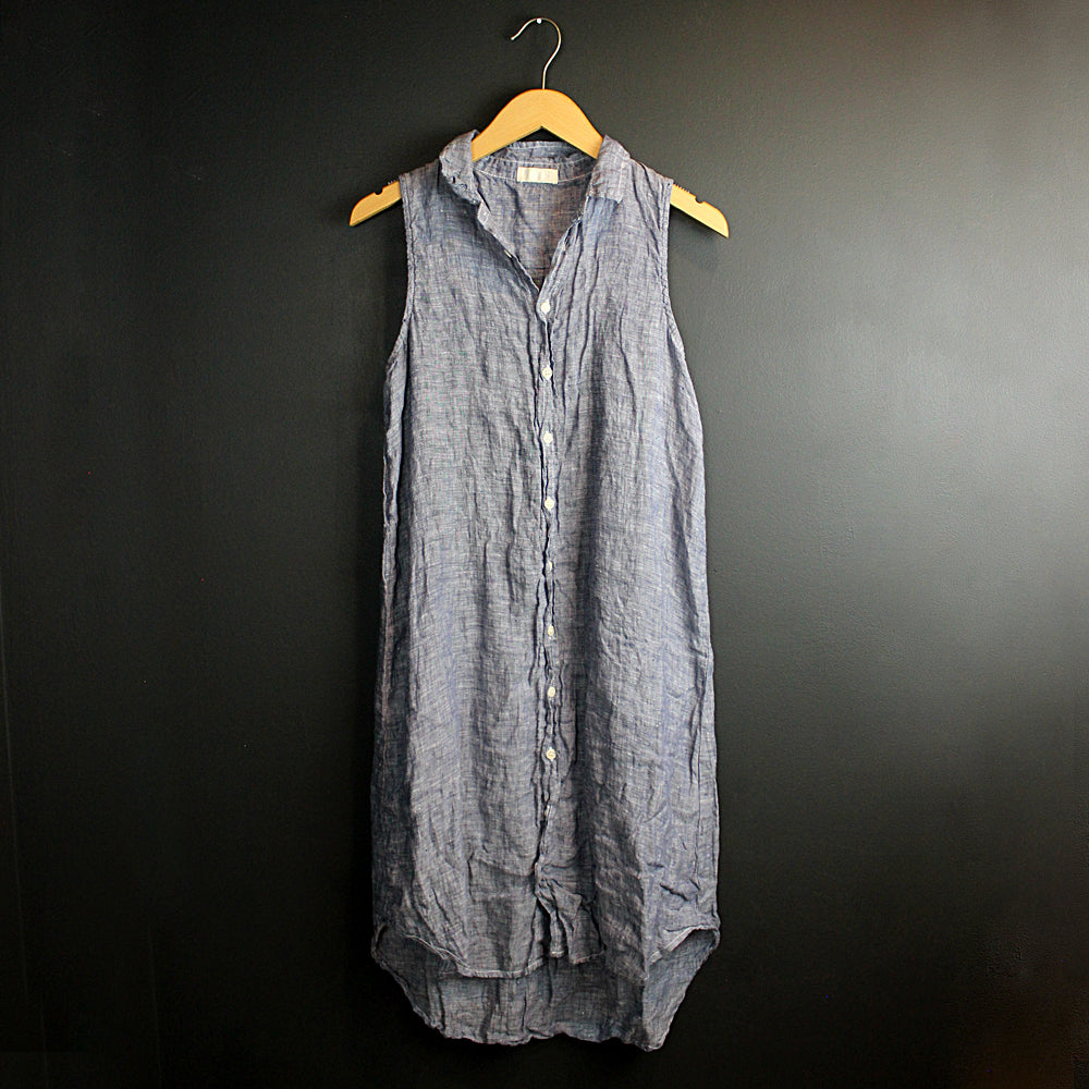 Chambray Mara Linen Dress
