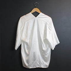 White Muse Silk Top