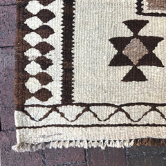 Multi Colored Handwoven Turkish Runner - 3' x 9' 40""