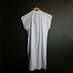 .White Cotton Night Dress