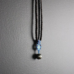 Hand-beaded Tahitian Pearl Necklace