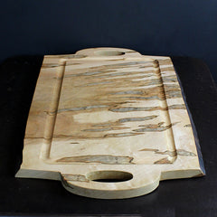 Brown Spalted Ambrosia Cutting Board