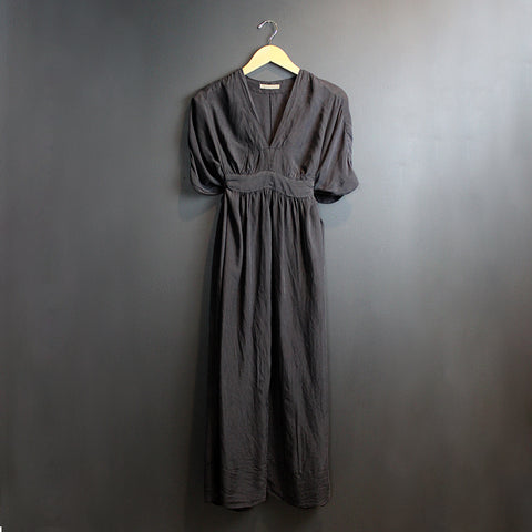 .Black Silk Dress