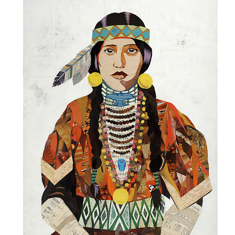 Multi Colored Print - Indian Sister #1