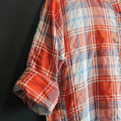 Multi Colored Plaid Tunic