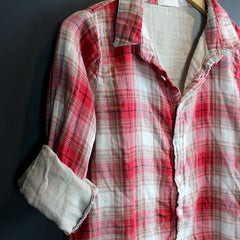 Red Plaid Romy Top