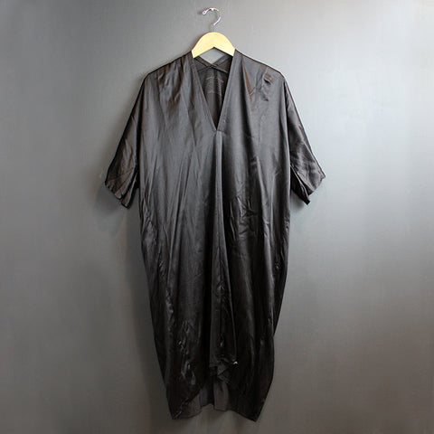 .Black Silk Muse Dress