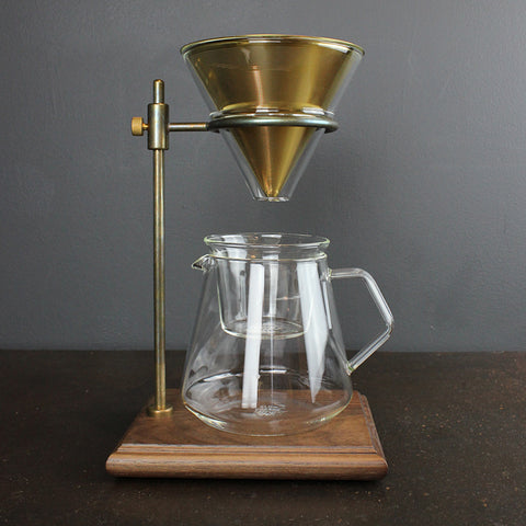.Clear Slow Drip Coffee Stand