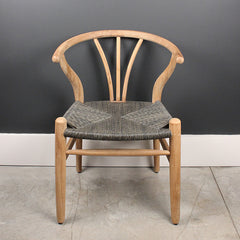 Grey Teak Chair