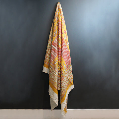 Multi Colored Handwoven Cotton Throw
