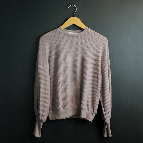 .Lilac Thermal Sweater