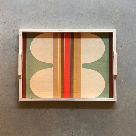.Handmade Serving Tray