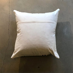 "Cream Vintage Pillow - 24"" x 24"""