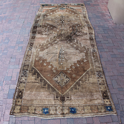 ".Multi Colored Handwoven Turkish Rug - 5' 8"" x 13' 7"""