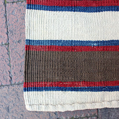 "Multi Colored Handwoven Turkish Runner - 2' 2"" x 8' 9"""