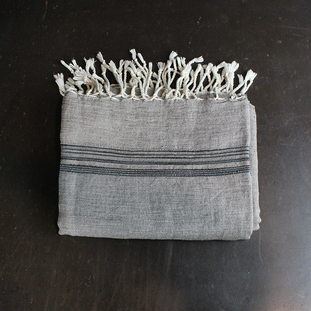 Neutral Handwoven Turkish Towel