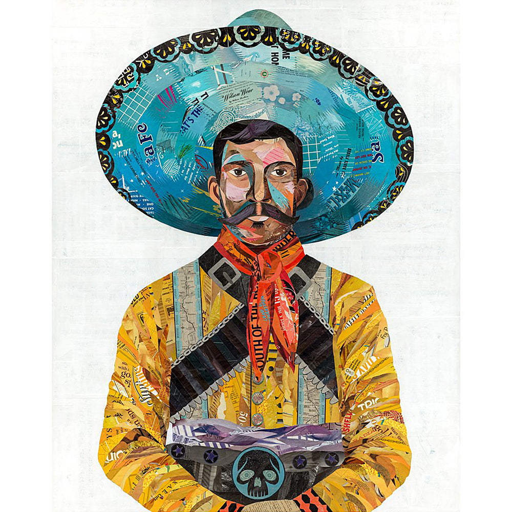 Multi Colored Print - Vaquero Cowboy