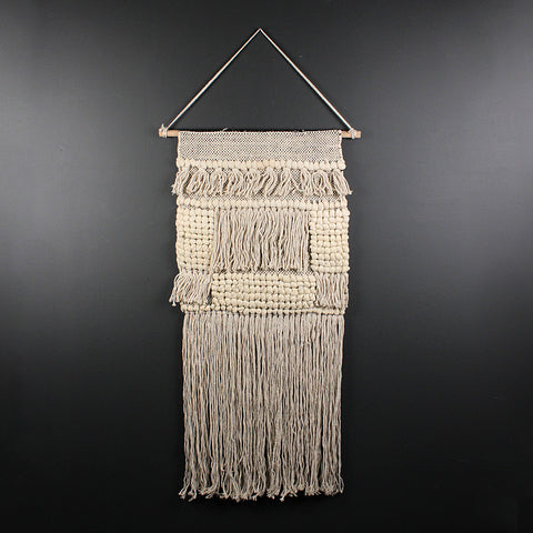 .Handwoven Wall Hanging