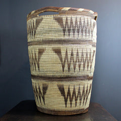 Brown Handwoven XL Basket