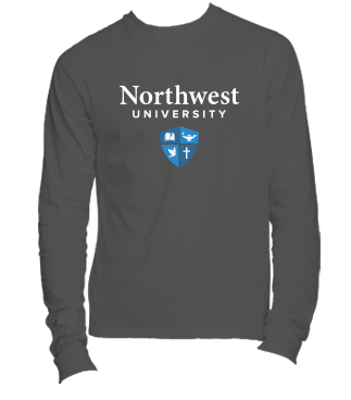 Northwest University Logo T-shirt - Long sleeve