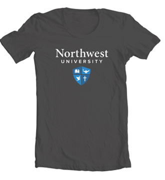 Northwest University Logo T-Shirt - Short Sleeve