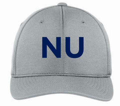 NU Baseball Cap - Light Grey