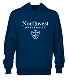 Northwest University Logo Hooded Sweatshirt
