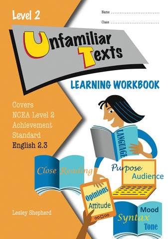 Level 2 Unfamiliar Texts 2.3 Learning Workbook