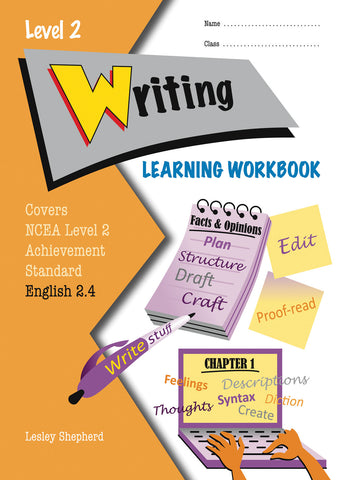 Level 2 Writing 2.4 Learning Workbook