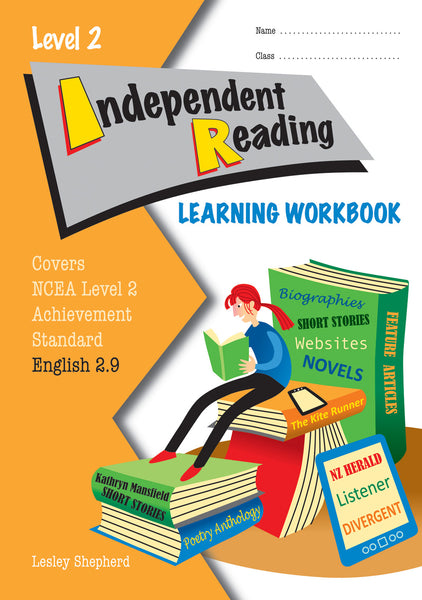 Level 2 Independent Reading 2.9 Learning Workbook