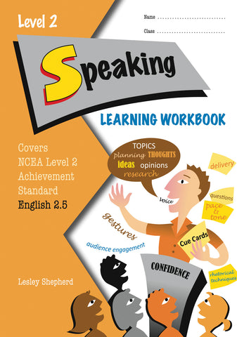 Level 2 Speaking 2.5 Learning Workbook