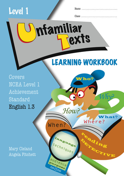 Level 1 Unfamiliar Texts 1.3 Learning Workbook