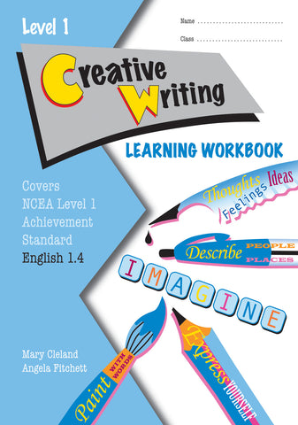 Level 1 Creative Writing 1.4 Learning Workbook