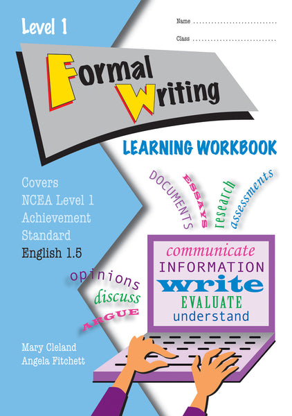 Level 1 Formal Writing 1.5 Learning Workbook