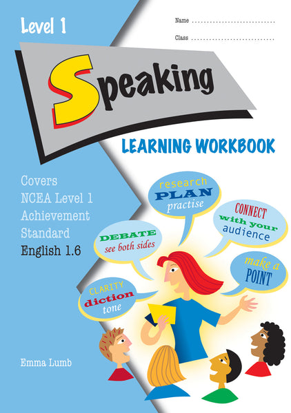 Level 1 Speaking 1.6 Learning Workbook