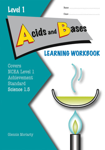Level 1 Acids and Bases 1.5 Learning Workbook