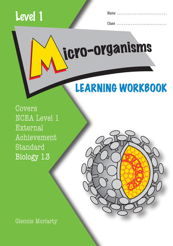 Level 1 Micro-organisms 1.3 Learning Workbook