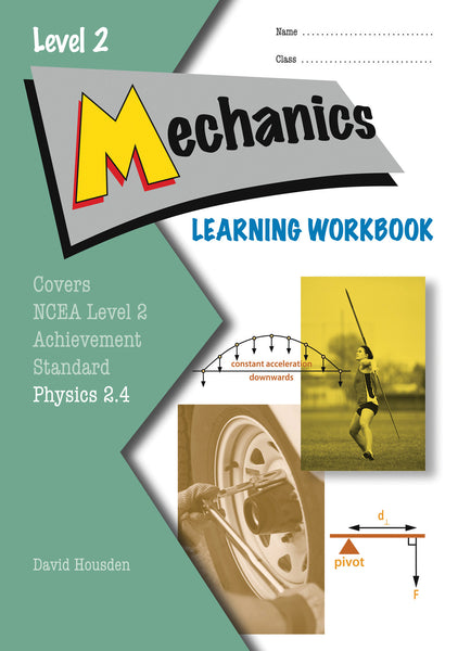 Level 2 Mechanics 2.4 Learning Workbook