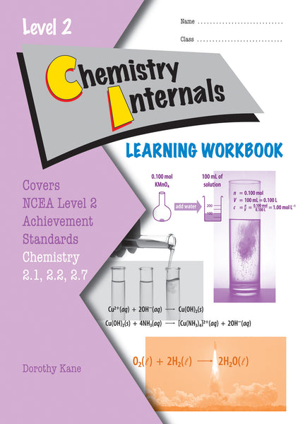 Level 2 Chemistry Internals Learning Workbook