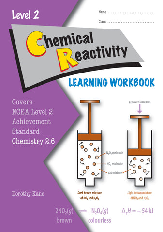 Level 2 Chemical Reactivity 2.6 Learning Workbook