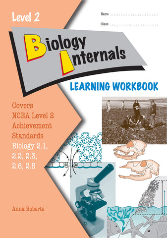 Level 2 Biology Internals Learning Workbook